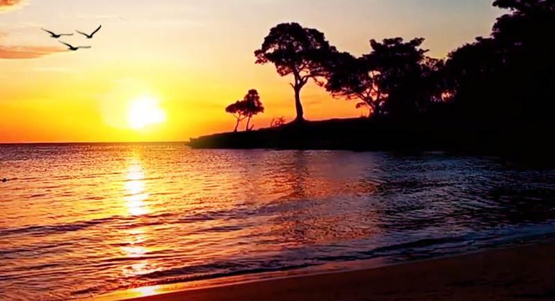 Sunset Di Pantai Punaga Takalar