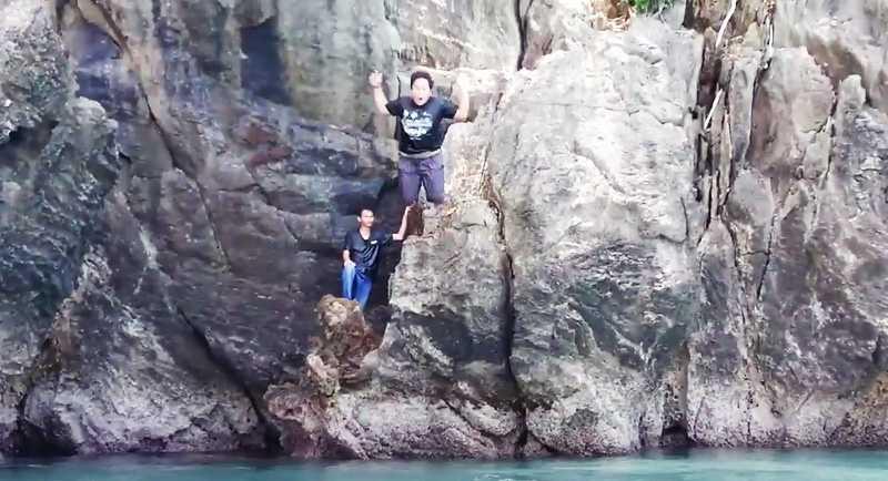 Tebing Di Pantai Taipa