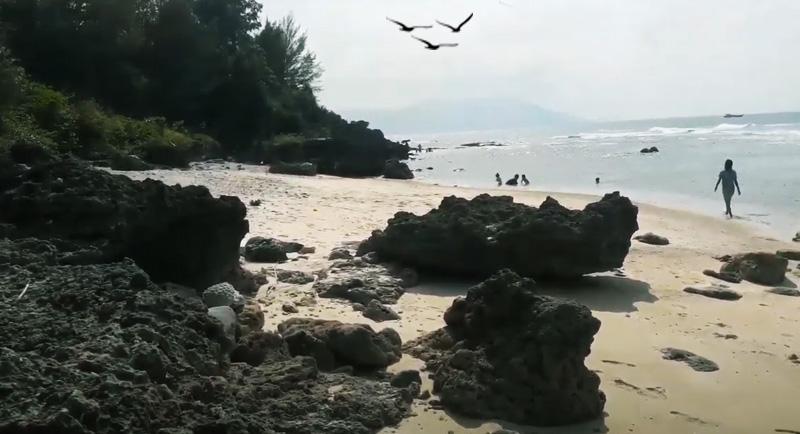 Rute Pantai Tapak Gajah